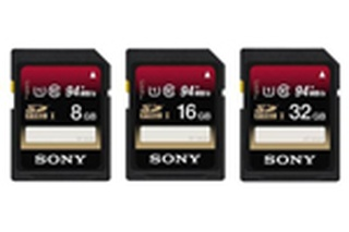 Sony introduces new line of ultra-high speed memory cards
