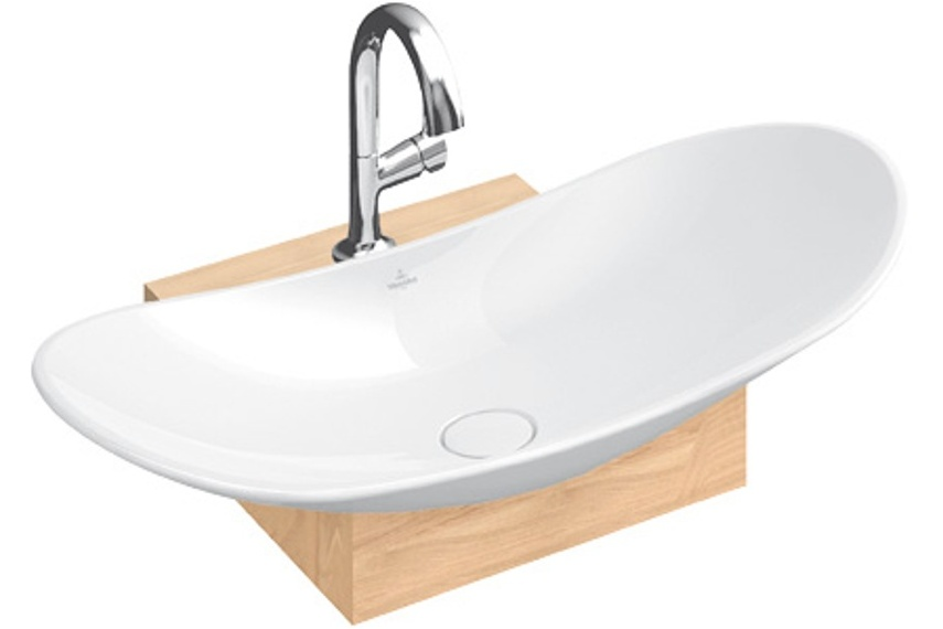 Bathroom vanity units suppliers - Villeory Amp Boch My Nature Washbasins By Paterson Selector