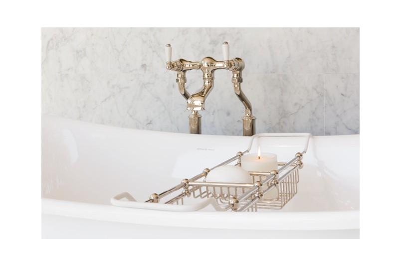 Perrin & Rowe offer freestanding bath fillers in a range of styles and finishes