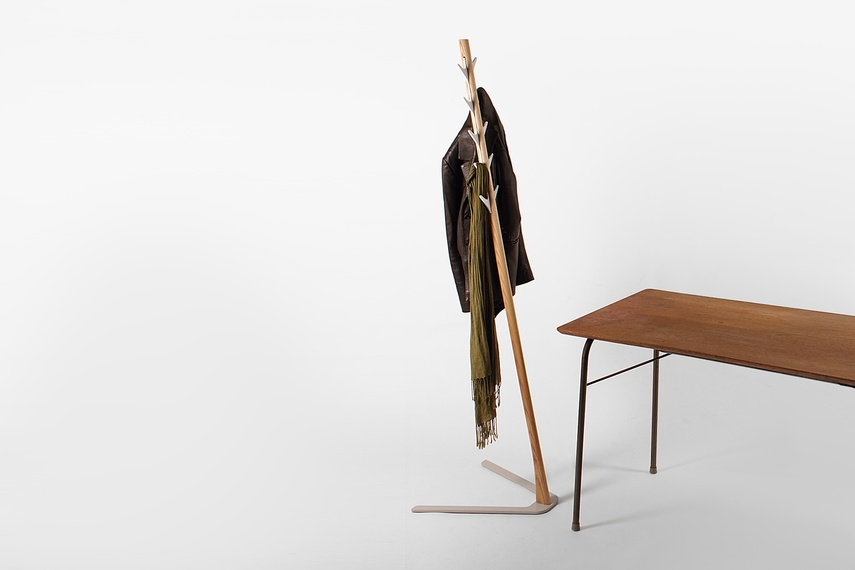 The 2013 Frankie coat stand by Designtree.