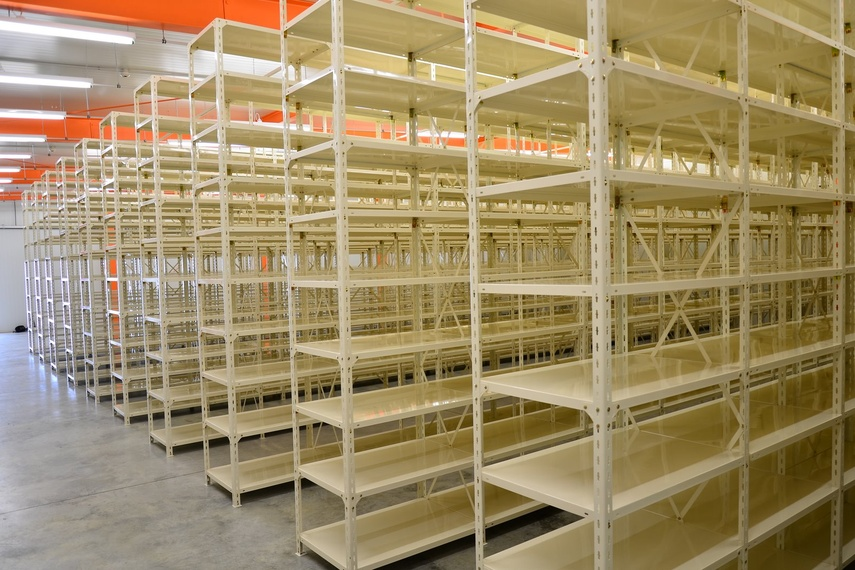 Post Shelving - NZ Film archive