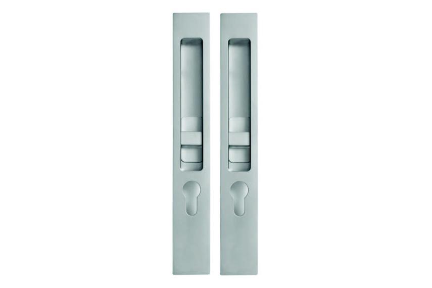 HB 640 sliding door entry lock set series