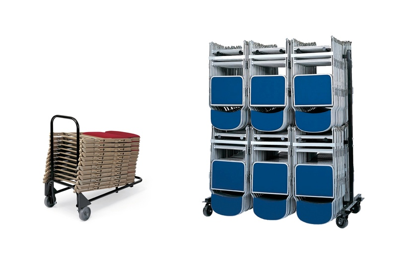 SST-Toter/HT100 – Trolley holds up to 20/108 folding chairs depending on type