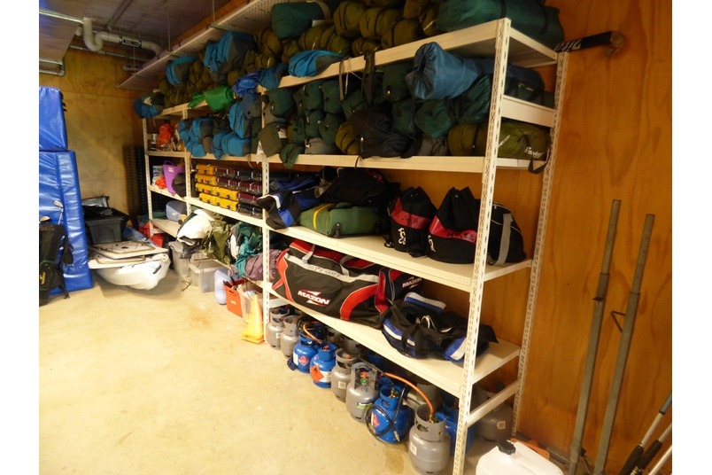 Gymnasium And Sports Equipment Storage By Hydestor Shelving Selector. Outdoor  Sports Equipment Storage