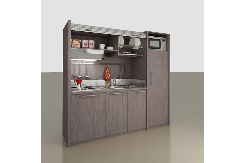 Flat-pack kitchenettes by MiniKitchens New Zealand – Selector