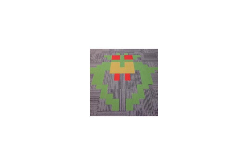 Blueprint colourways carpet tile