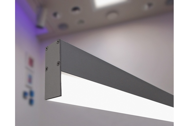 Multitask Slim is a versatile lighting solution for interior spaces