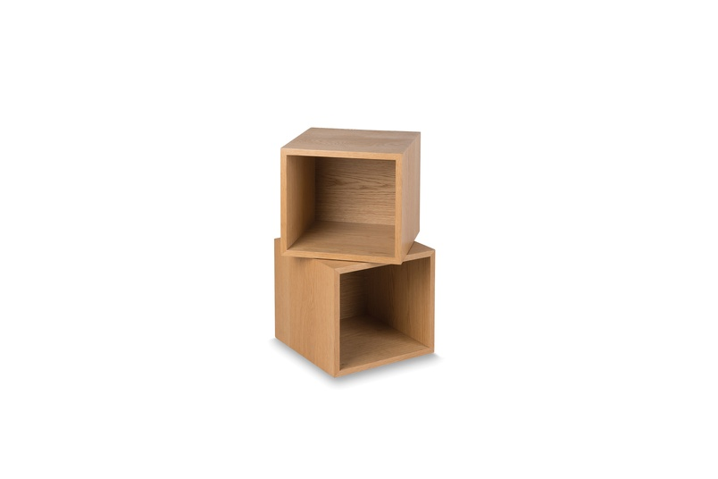 Connect storage with two boxes.