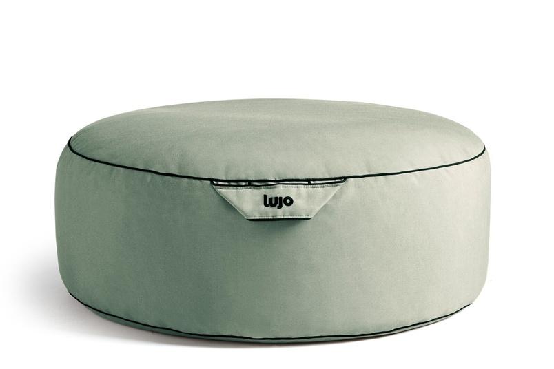Tulum ottoman (outdoor/spa).