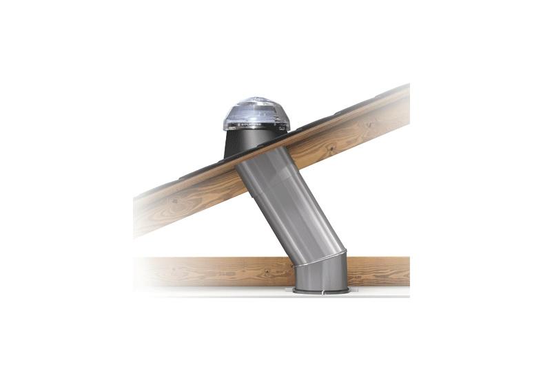 Solatube daylighting system roof diagram