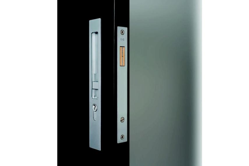 HB 630 sliding door entry lock set series