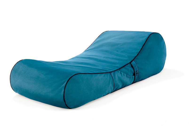 Tulum lounger (outdoor/turquoise).