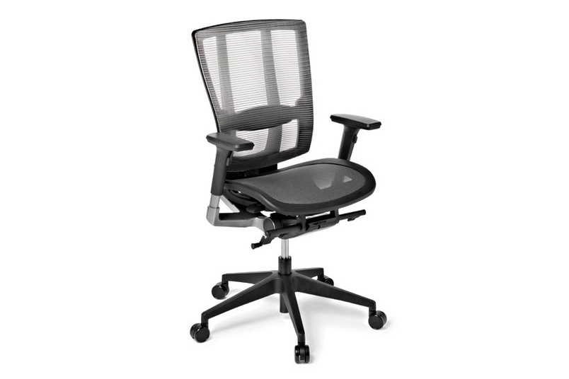 Cloud Ergo chair – mesh seat, arms