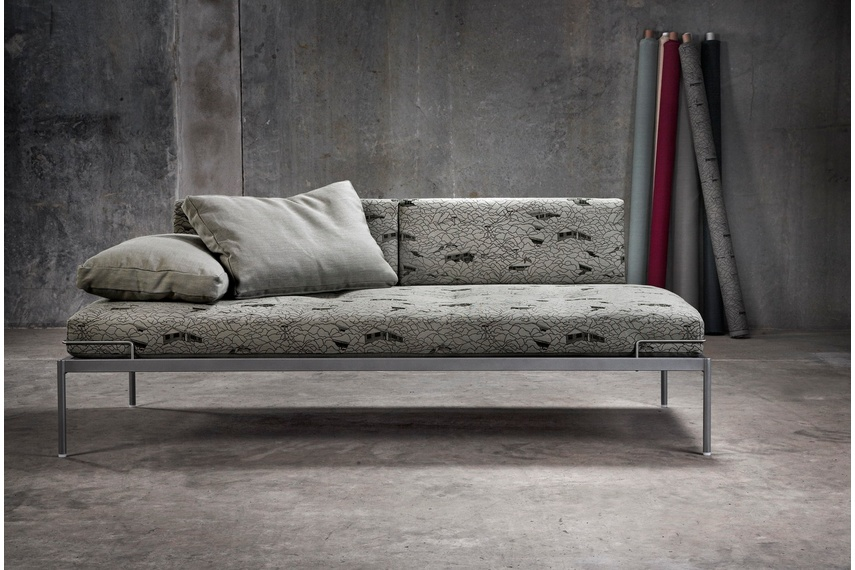 Line One sofa –available in wide range of fabrics, fabric shown Urban Hills from Hemptech