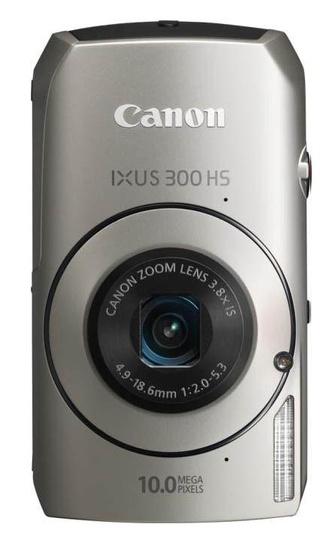 New IXUS 300 HS digital camera spearheads the IXUS range