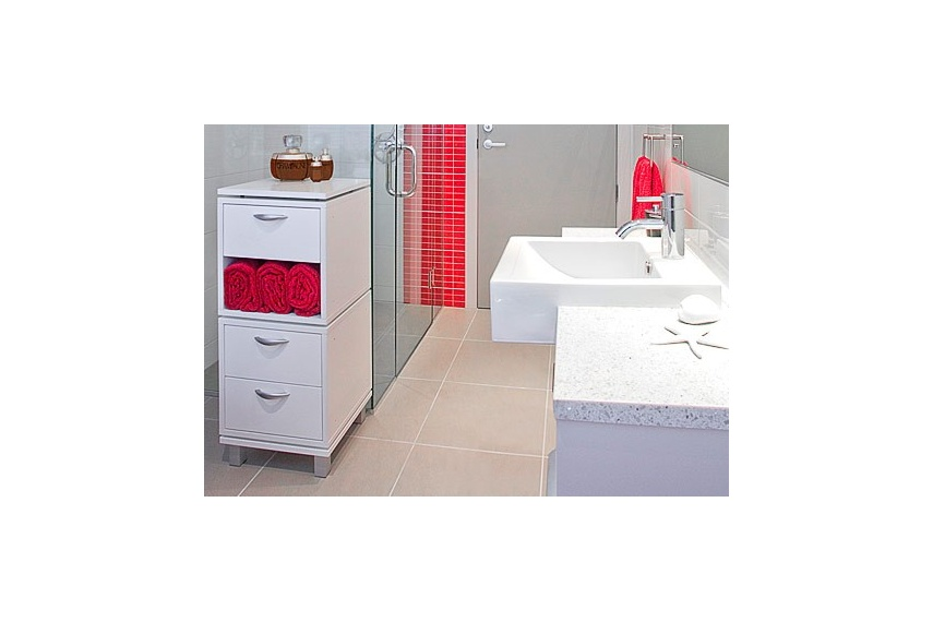 Cubox works in bathrooms too