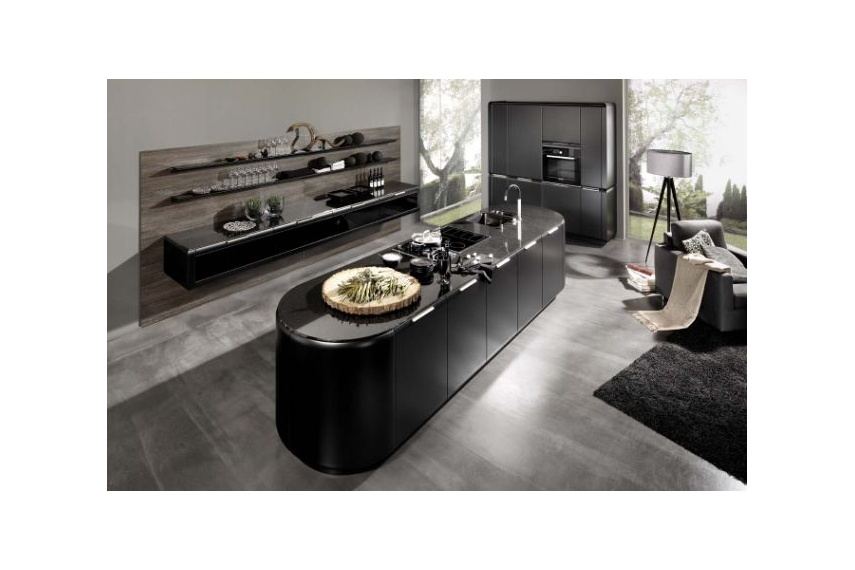 design kitchen italian%0A Onda kitchen  dynamically rounded shapes  a diversity of colours and an  irresistible magnetism