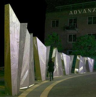 Advanx Sculpture by Axolotl Metal