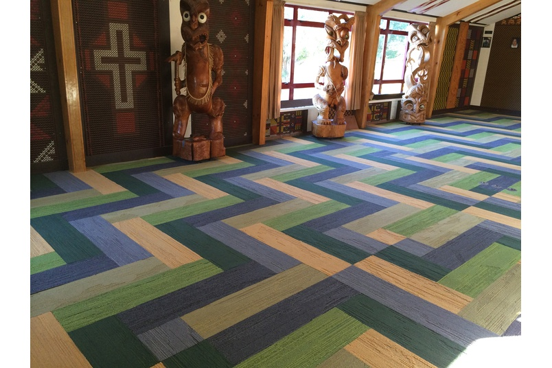 Planks carpet tile collection