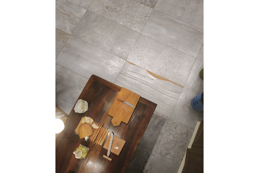 Jumble Cemento floor tiles.