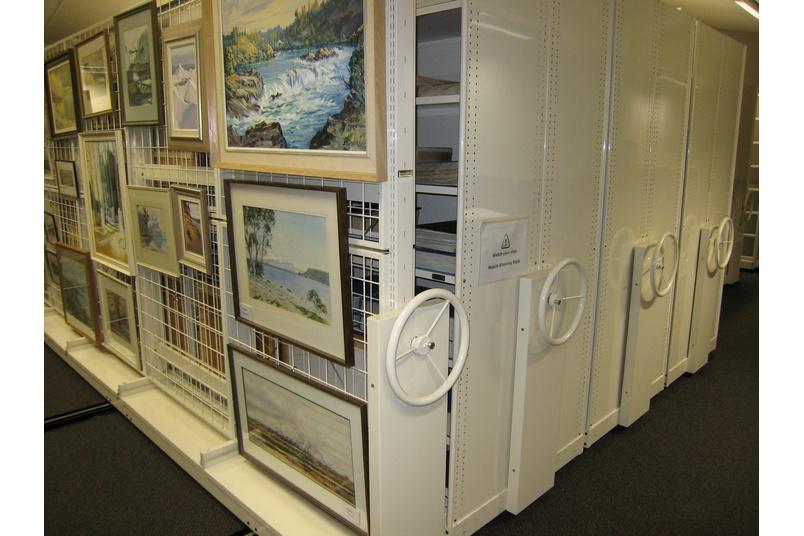 Art storage.