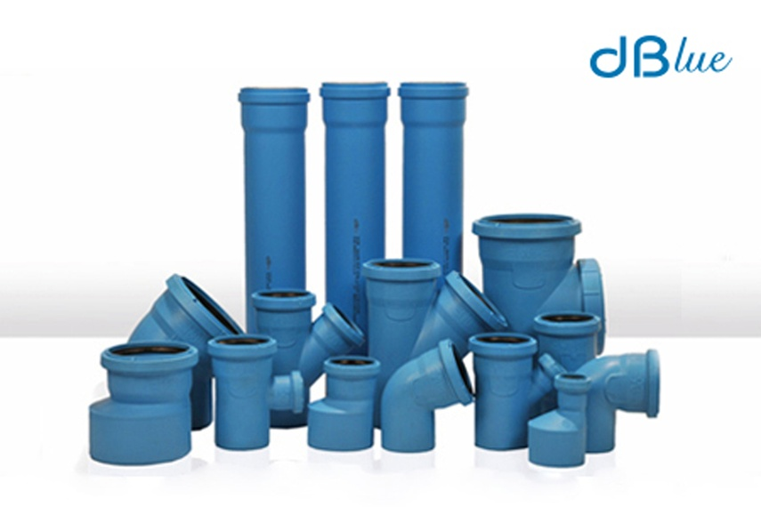 dBlue acoustic sanitary plumbing system