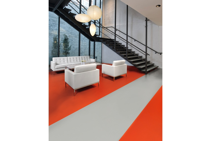 Polyflor Bloc Fully Pigmented Solid Colour Sheet Vinyl By