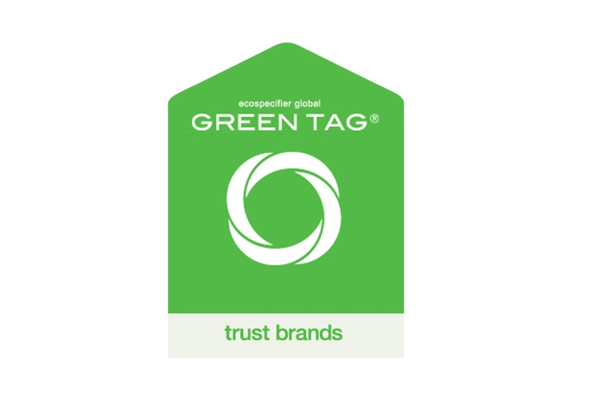 Billi has a Gold Certification from Global Greentag