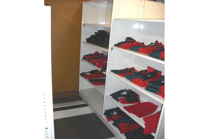 Uniform storage.