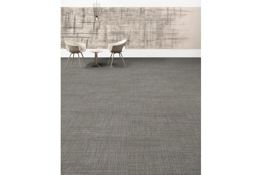 Delicate carpet tile – Small scale brush like pencil. Normally used to express understated, fine and smooth work.
