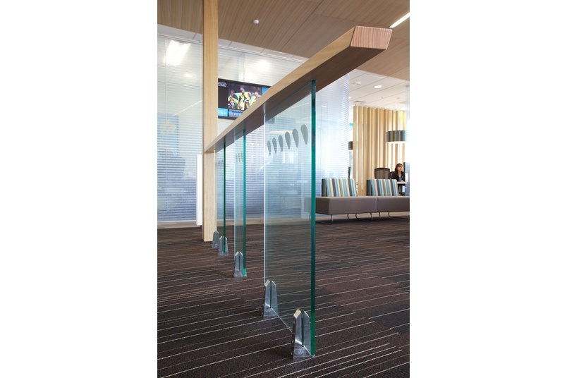Glass Vice® commercial balustrade system