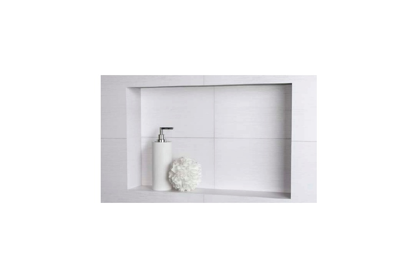 Profinish Recessed Tile Shelf By Newline Group Selector