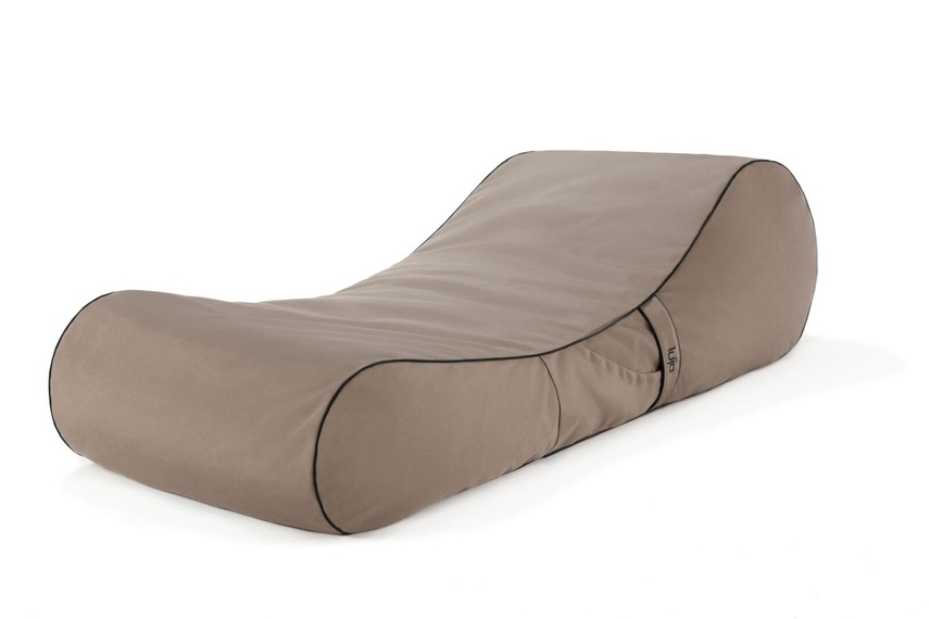 Tulum lounger (outdoor/taupe).