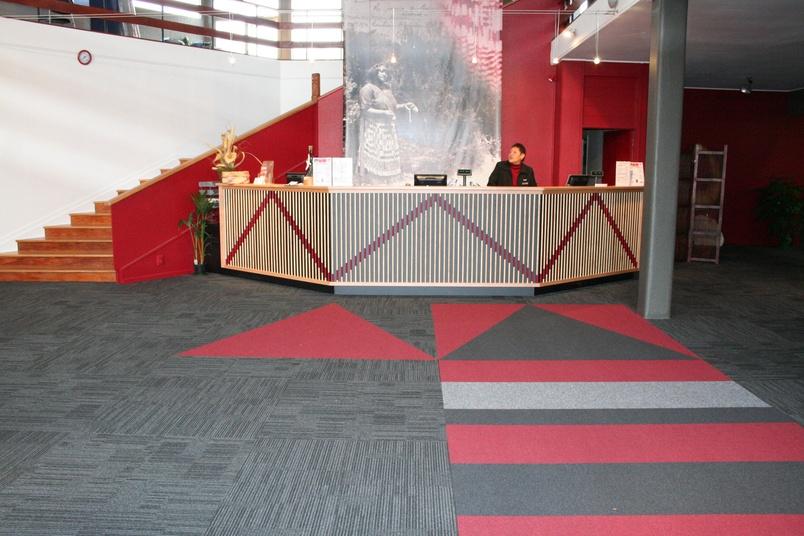 Equilibrium II carpet tile –reception