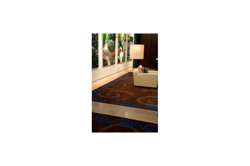 Sky City Grand Hotel Lobby – custom rug