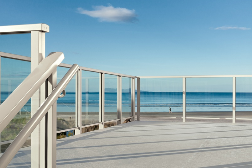 Waihi Surf Club –barriers for crowd and public loadings