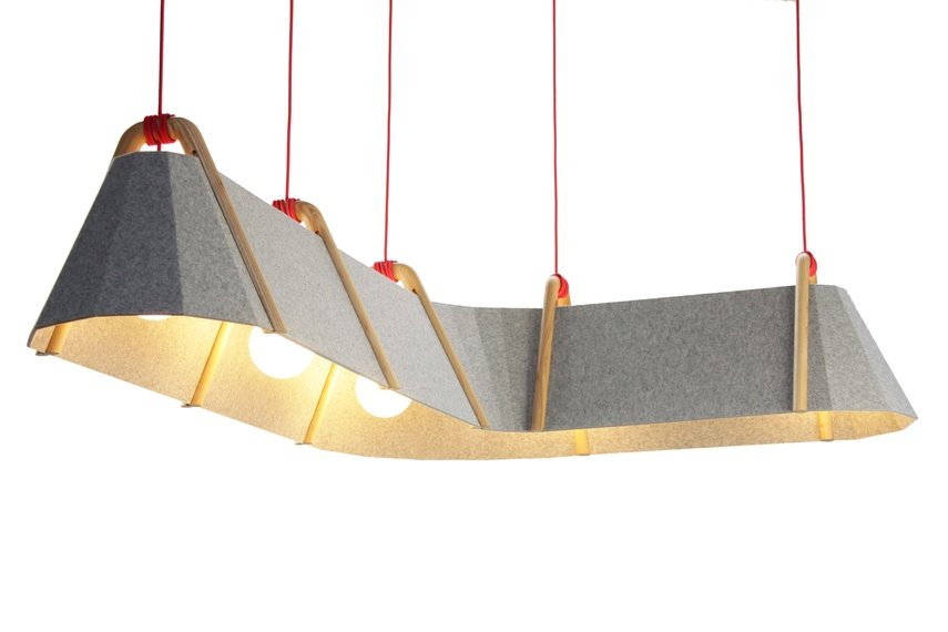 Can extend lengthways using the Frankie pendant extension to provide lighting perfect for longer tables, bars and hallways.