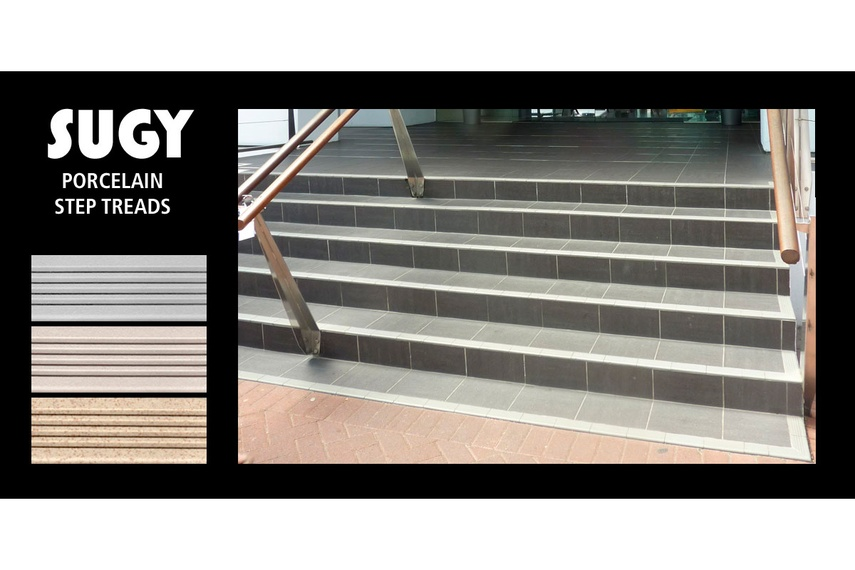 Sugy Porcelain Step Treads By Global Tile Selector