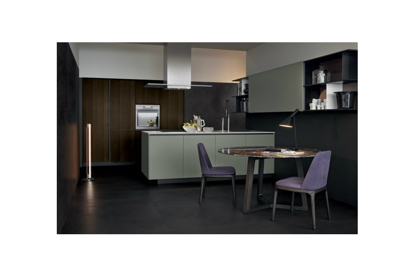 Every Alea detail brings out the design drive of 'giving shape' to a new concept of the kitchen.