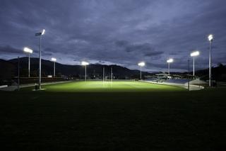 Nelson's Trafalgar Park Stadium shines with Philips