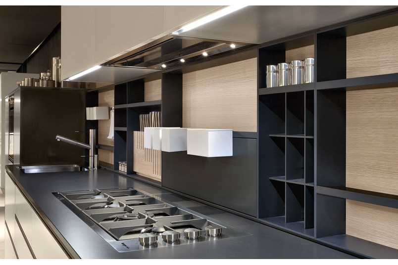 My Planet kitchen guarantees the freedom of composition and finishes, even in small spaces.