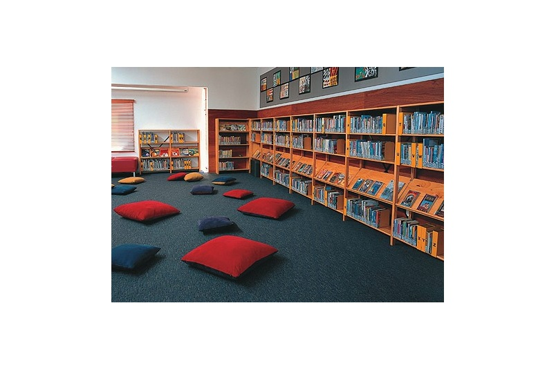 Solid and reliable library shelving for education