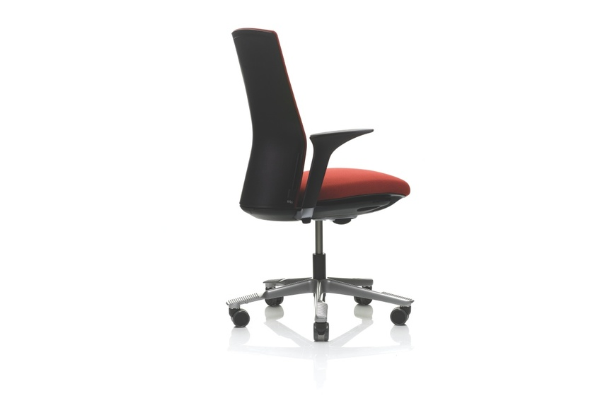 Greenguard-certified, ergonomic chair with 97% recyclable materials.