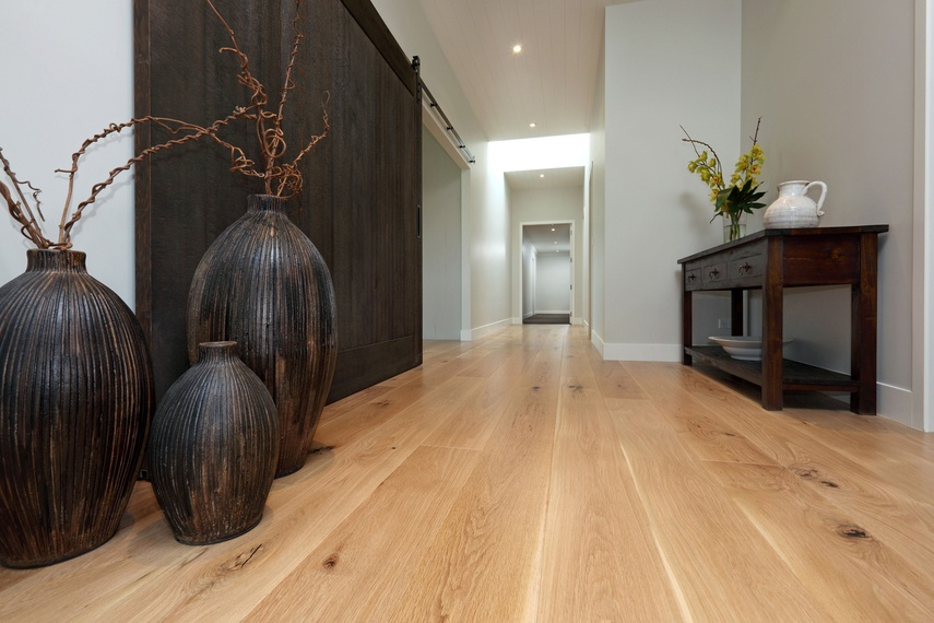 American White Oak T & G laid by Freedom Flooring