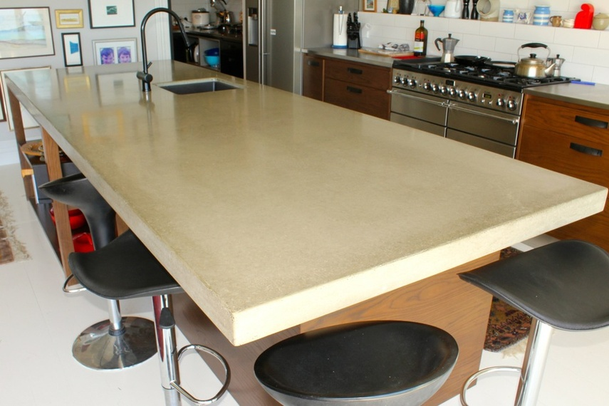 Kitchen benchtop by Terazzo + Stoneworks