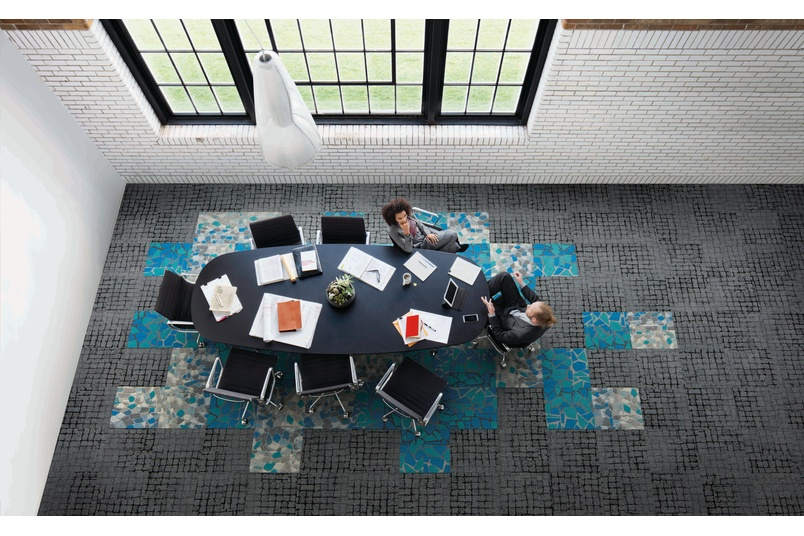 Human Connections Carpet Tile Collection By Interface