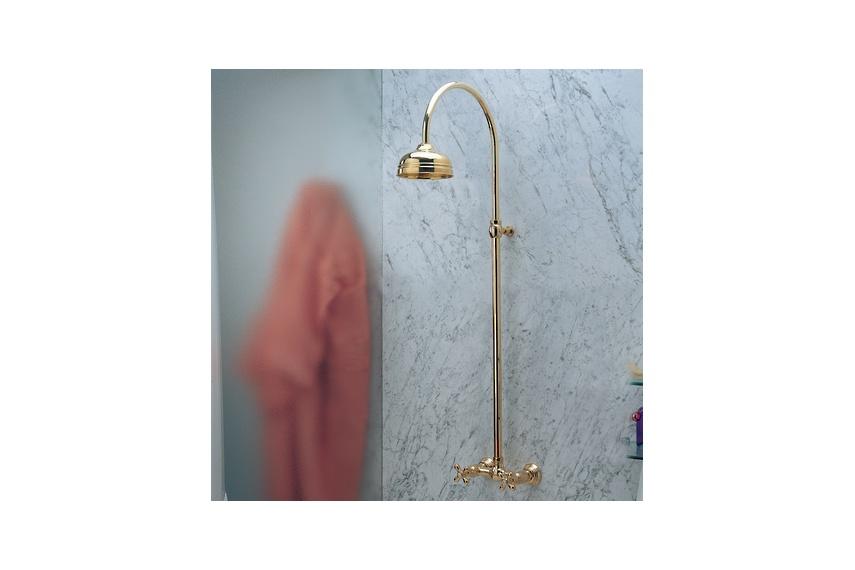 Viareggio wall mount shower kit