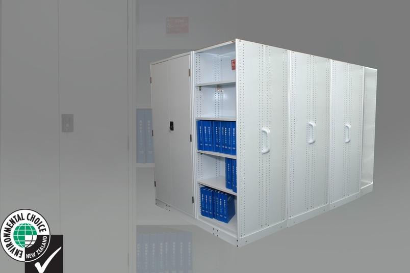Mobile shelving unit