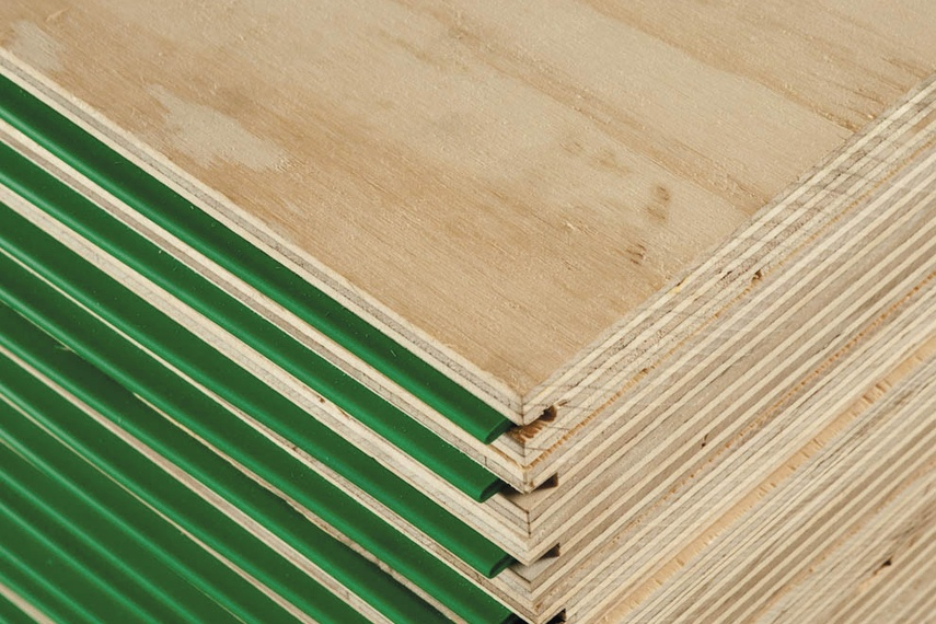 Commercial grade F14 plywood