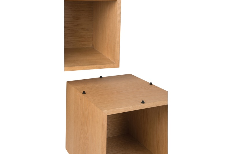 Connect storage boxes.